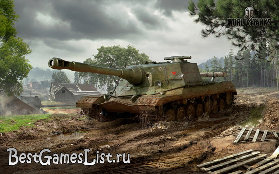 ПТ САУ World of Tanks